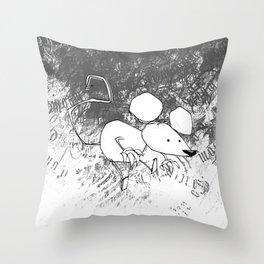 minima - deco mouse Throw Pillow