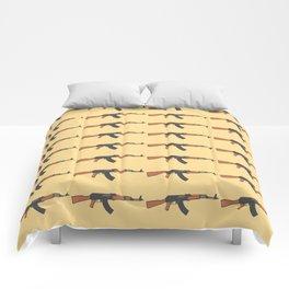 ak47 pattern logo Comforters