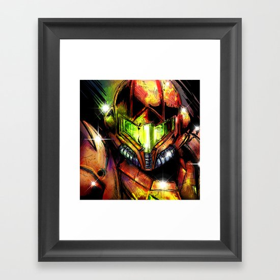 Samus Framed Art Print