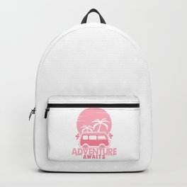 Adventure Awaits pw Backpack