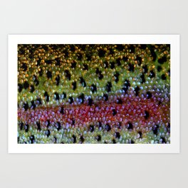 Beautiful Skin, Rainbow Bronze Art Print