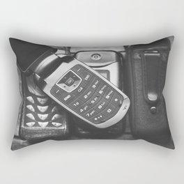 Retro Communication 3 Rectangular Pillow