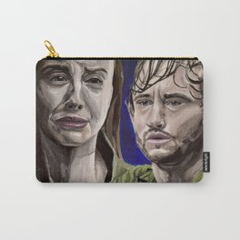 Abigail and Will, acrylic painting Carry-All Pouch