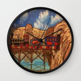 Jupiter Choo Choo Wall Clock