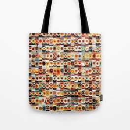 2013 in Empty Coffee Cups Tote Bag