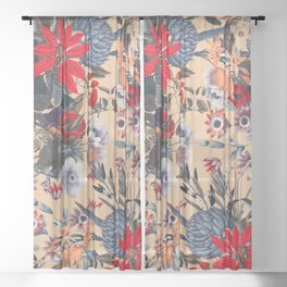 Magical Garden XIII Sheer Curtain