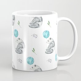 Panda Bears with Balloons Coffee Mug