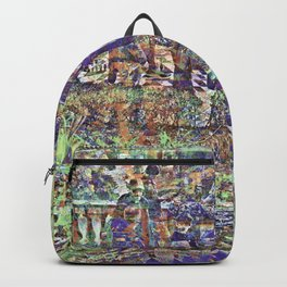 Leave as beings entertain returning if not tensed. Backpack