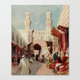 Kelly, Robert Talbot (1861-1934) - Egypt 1903, The Bab-Zuweyla Canvas Print