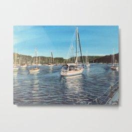 Sydney Marina Metal Print