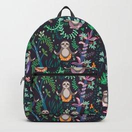 yoga sloths Backpack