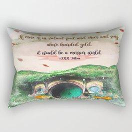 Merrier World Rectangular Pillow