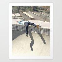 Skate Life Art Print
