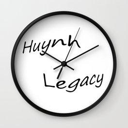 Huynh Legacy  Wall Clock