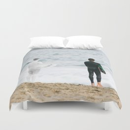When You Were Here Duvet Cover