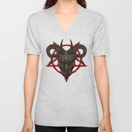 The Pentagram Unisex V-Neck