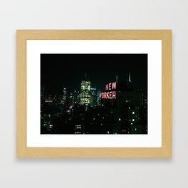 New Yorker Framed Art Print