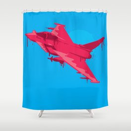 Ink Jet Shower Curtain