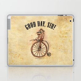 """Good Day, Sir!"" Laptop & iPad Skin"