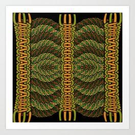 Noeuds, 3010b5 Art Print