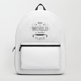 Bake the world a better place with one cake at a time. Backpack