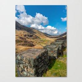 Nant Ffrancon Pass Snowdonia Canvas Print