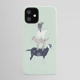 Goat Stack iPhone Case
