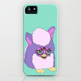 Purple Furby iPhone Case