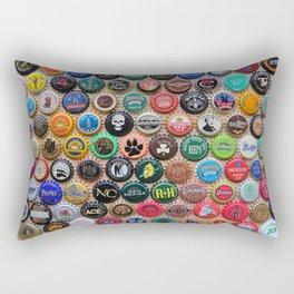Beer & Ale Caps #3 Rectangular Pillow