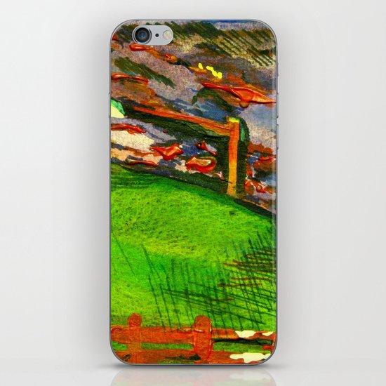 nice and windy night  iPhone & iPod Skin