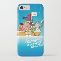 friendship iPhone & iPod Cases featuring Friendship by Gunawan Lo