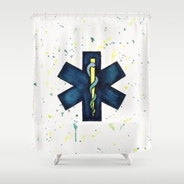 EMT Hero Shower Curtain