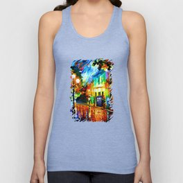 Tardis Stay Waiting Unisex Tank Top