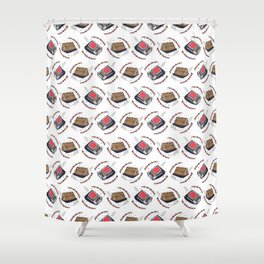 Firewood and matches Shower Curtain