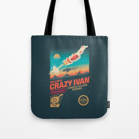 Crazy Ivan Tote Bag
