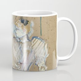 """Henri de Toulouse-Lautrec """"Lucien Guitry et Jeanne Grânier"""" Coffee Mug"""