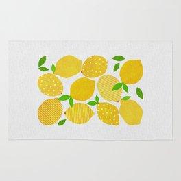 Lemon Crowd Rug