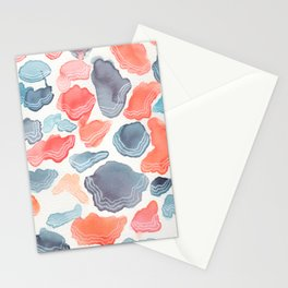 atardecer marino Stationery Cards