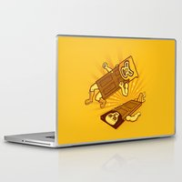 doors Laptop & iPad Skins featuring Lucha Doors!  by Charity Ryan