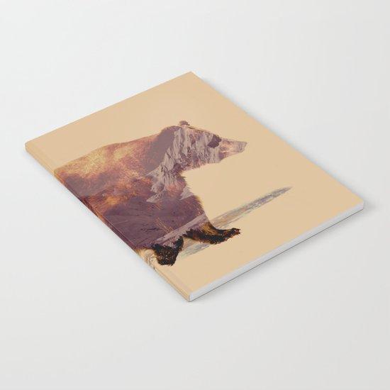 Glacier Grizzly Notebook