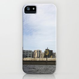 The city from the river  iPhone Case