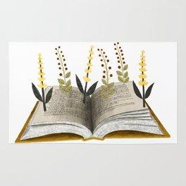 floral reading ii Rug