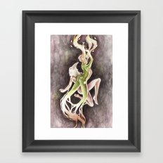 If you can't be my wife, you shall be my tree (Apollo & Daphne) Framed Art Print