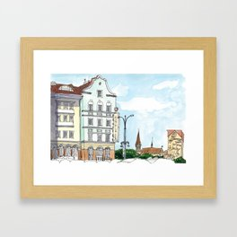Amber Spa, Kaliningrad Framed Art Print