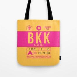 Luggage Tag B - BKK Bangkok Thailand Tote Bag