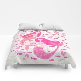 Koi Mermaids – Pink Palette Comforters