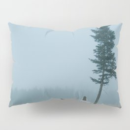Surrounded by fog Pillow Sham