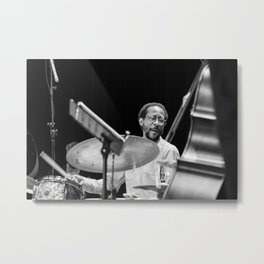 Brian Blade and the Fellowship Band. XII Panama Jazz Festival Metal Print