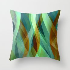 Abstract background G135 Throw Pillow