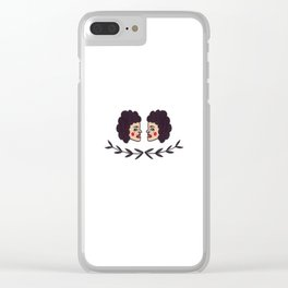 Side Eyed Clear iPhone Case